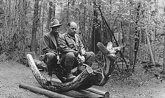 """""""Joining Teddy Roosevelt's Rough Riders involved a more rigorous training process than these two expected."""""""