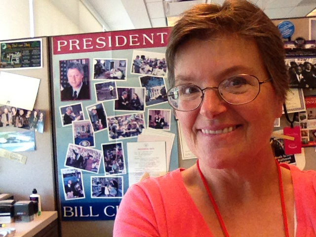 Kim Coryat is a textual archivist at the William J. Clinton Presidential Library.