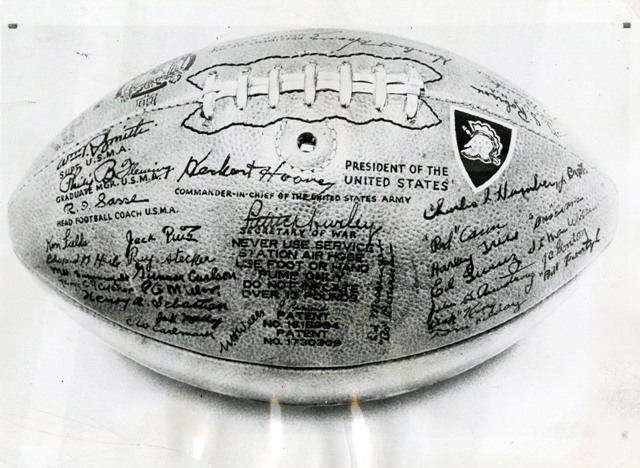 1-HH Army Navy football 1930