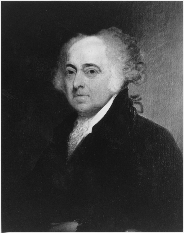 John Adams. (National Archives Identifier 532846)