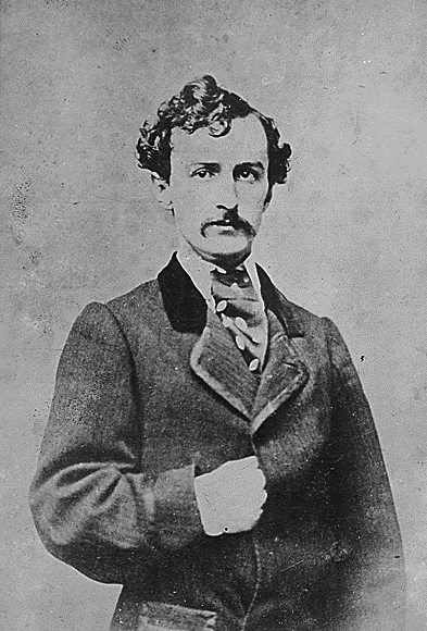 John Wilkes Booth, undated. (National Archives Identifier 518136)