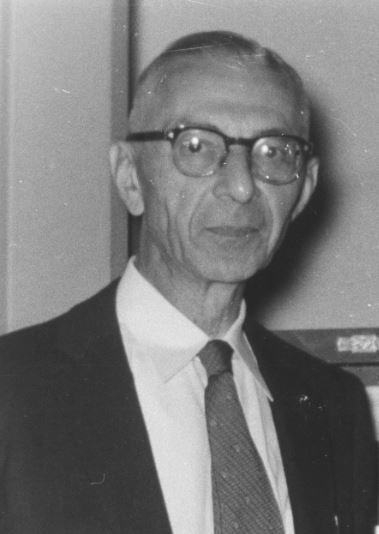 Ernst Posner, undated. (Records of the National Archives)