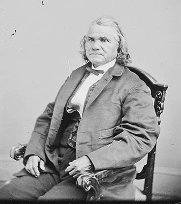 Brig. Gen. Stand Watie (National Archives Identifier 529026)