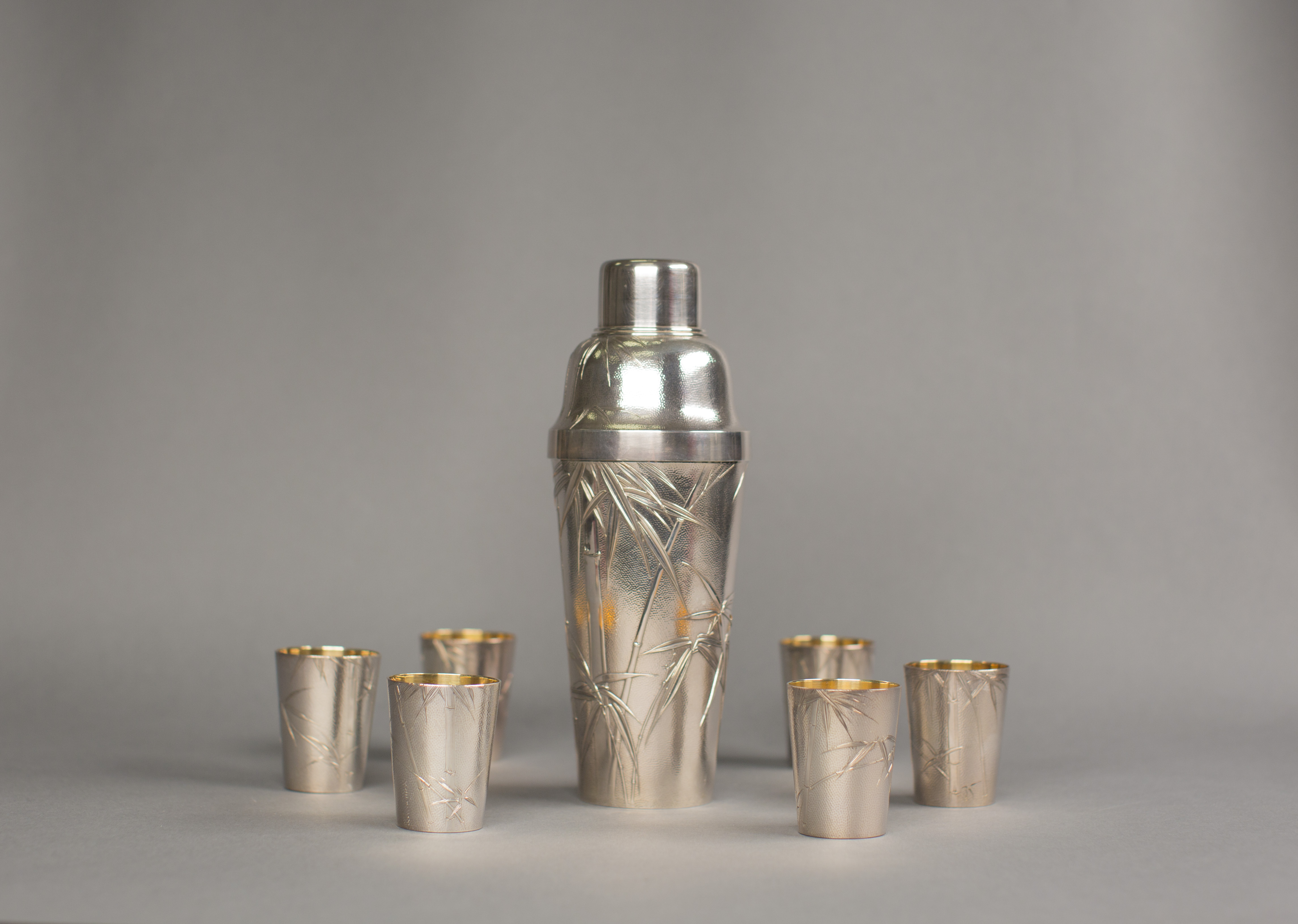 FDR's Chinese Cocktail Set. (National Archives Identifier 16917407)