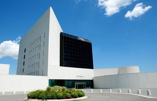 The JFK Presidential Library in Boston, Massachusetts. (Photo courtesy of the JFK Presidential Library)