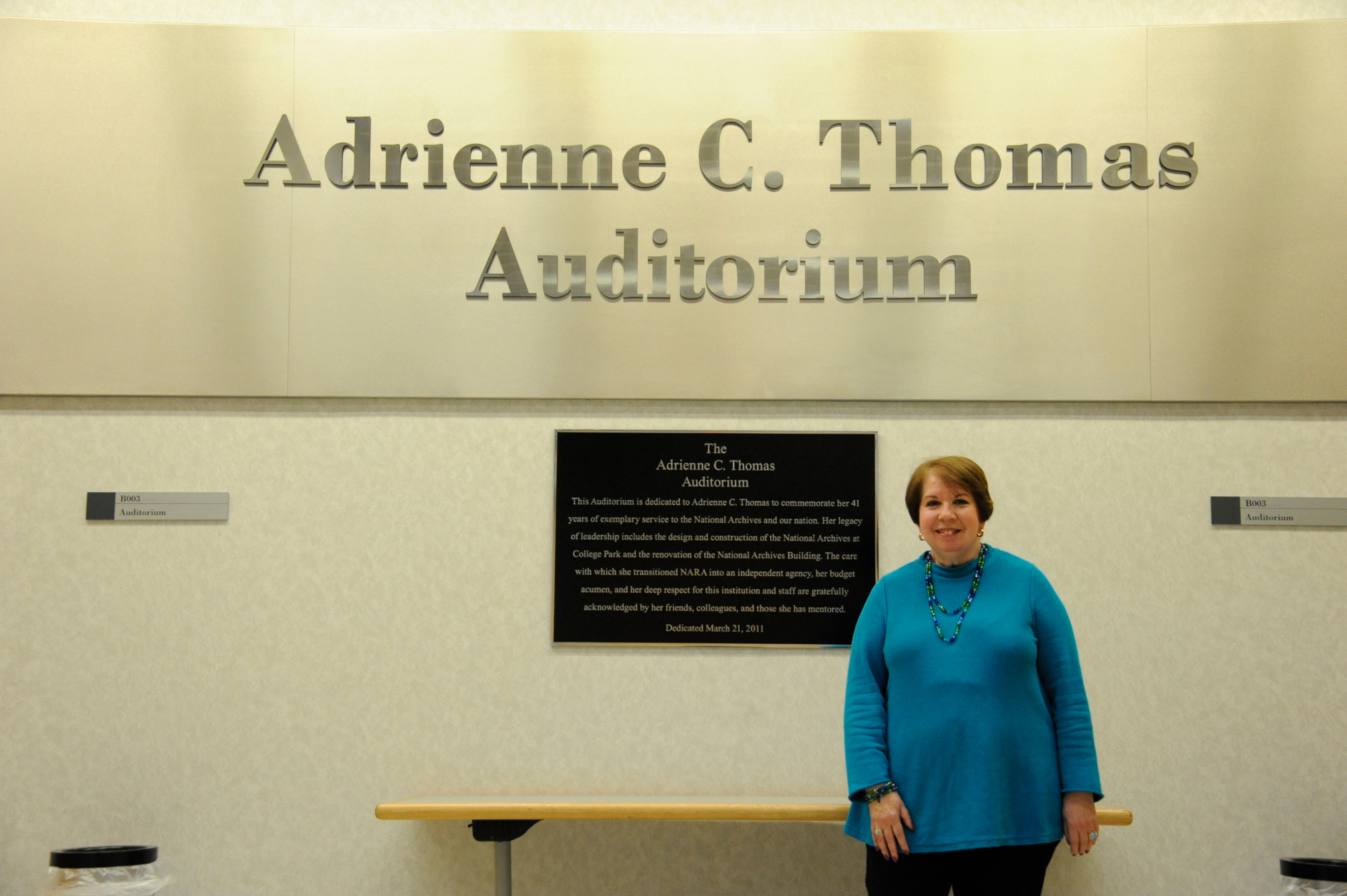 Adrienne C. Thomas Auditorium