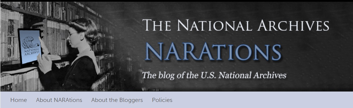 Narations Header with Adelaide Ansley and Ipad
