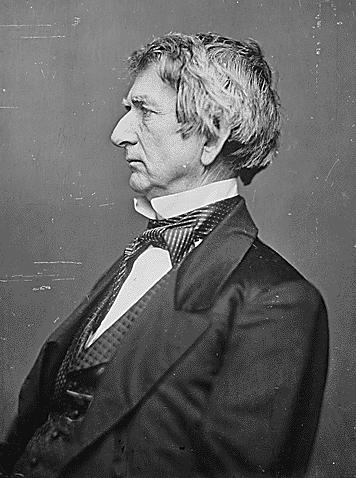 Hon. William H. Seward, Secretary of State, ca. 1860-1865. (National Archives Identifier 528347)
