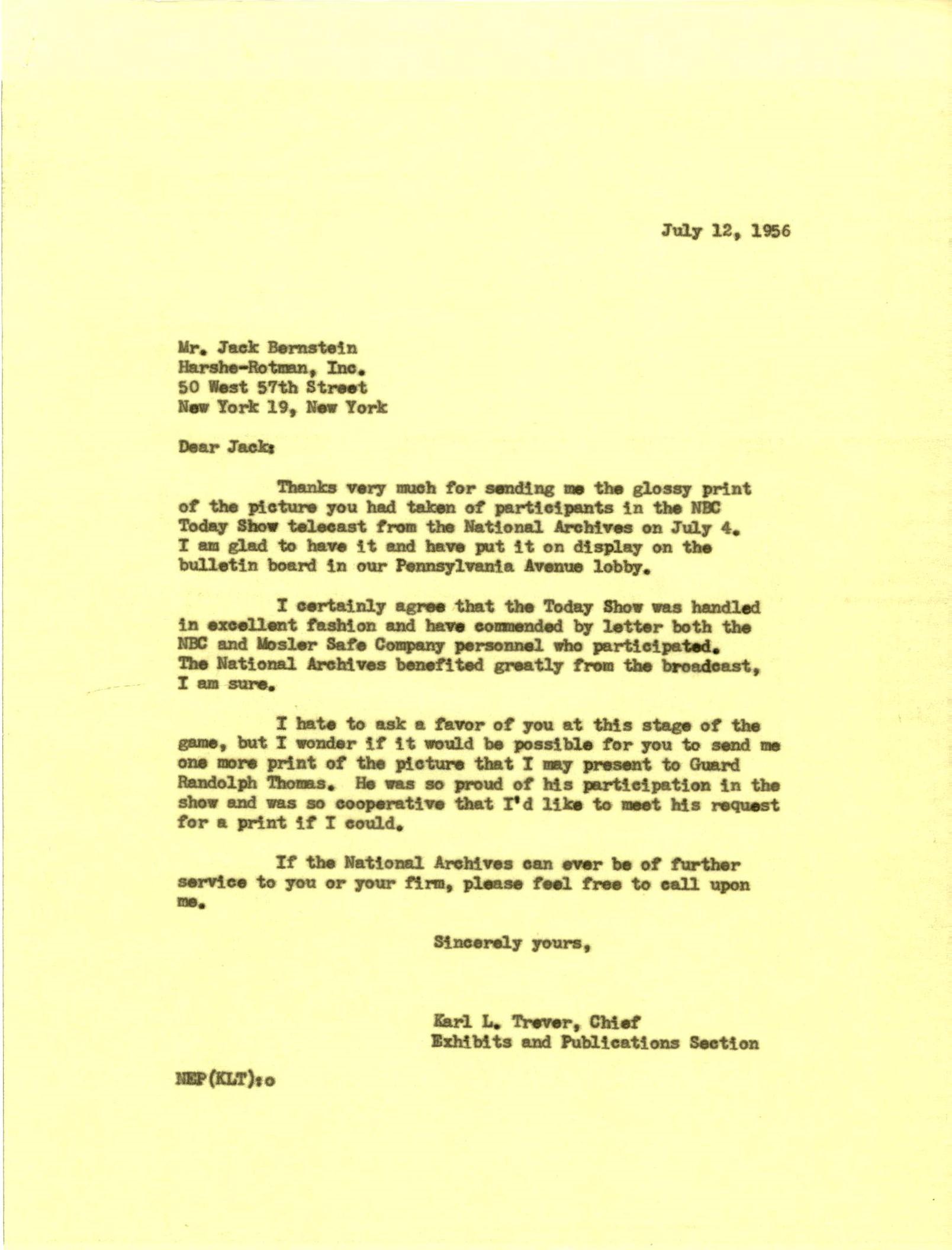 Bernstein-7-12-1956