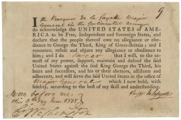 LaFayette oath of allegiance06896_2006_001