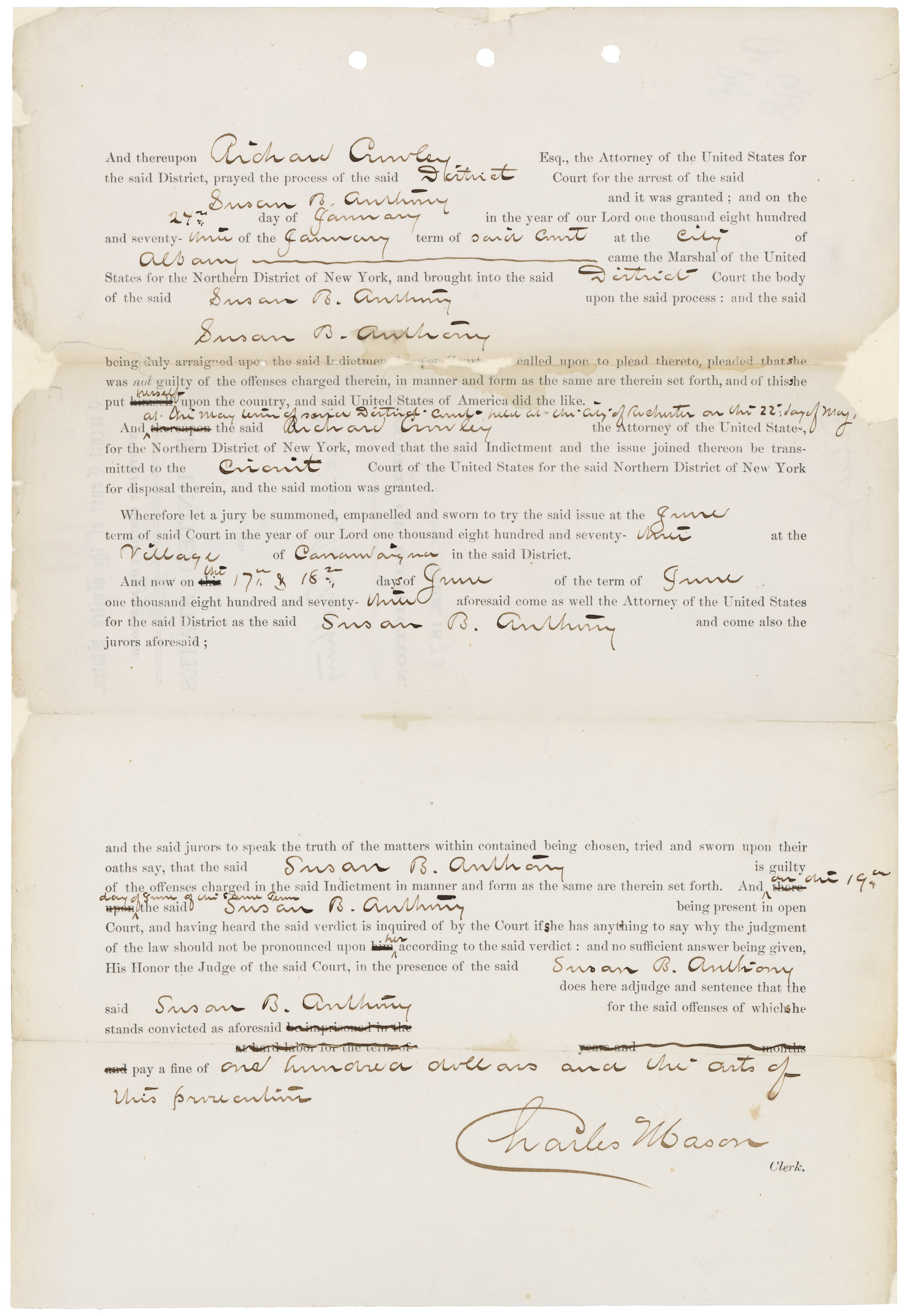 Conviction of Susan B. Anthony, 06/187305848_2004_001
