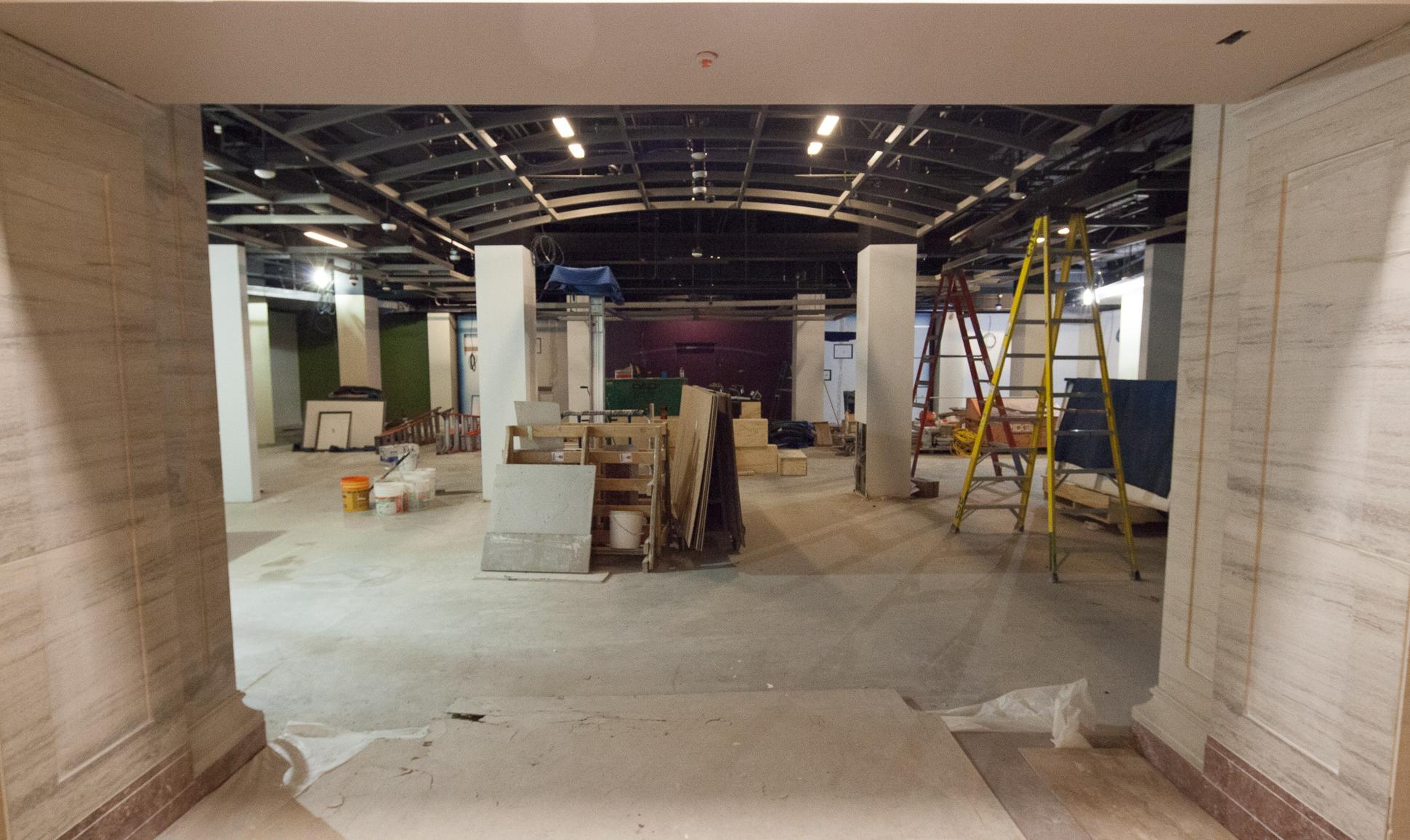 Rubenstein Gallery Construction